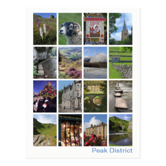 Peak District multi-image 3 Postcard