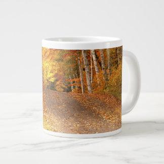 Peak Fall Foliage Season in the U. P. Large Coffee Mug