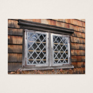 Peak House Window ~ ATC Business Card