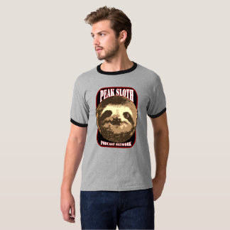 Peak Sloth Podcast Network T-shirt
