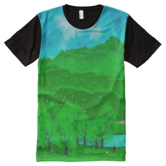 Peaks All-Over Print T-Shirt