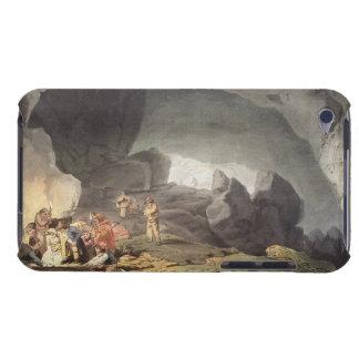 Peaks Hole, Derbyshire (colour engraving) iPod Case-Mate Case