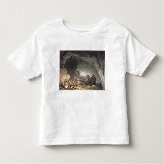 Peaks Hole, Derbyshire (colour engraving) Toddler T-Shirt