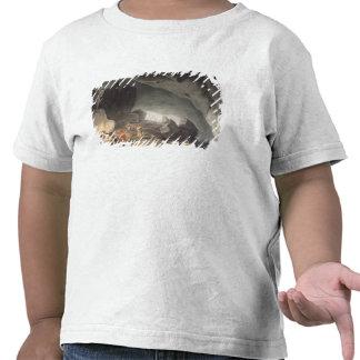 Peaks Hole, Derbyshire (colour engraving) T-shirt