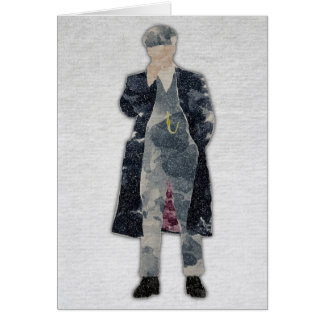 Peaky Blinders Tommy Shelby watercolour Card