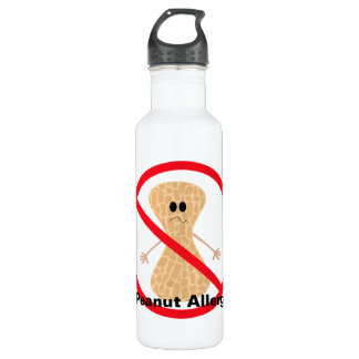 Peanut Allergy 710 Ml Water Bottle