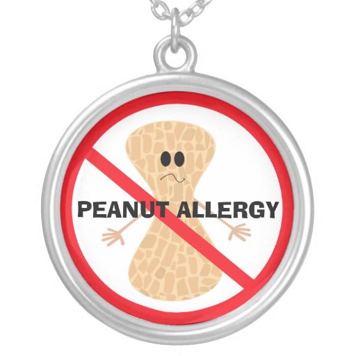 Peanut Allergy Necklace