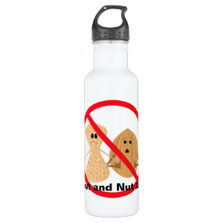 Peanut and Nut Allergy 710 Ml Water Bottle