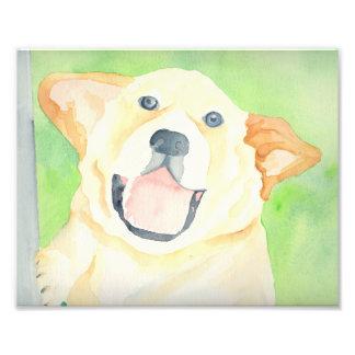 Peanut Beagle Art Print Photo Print