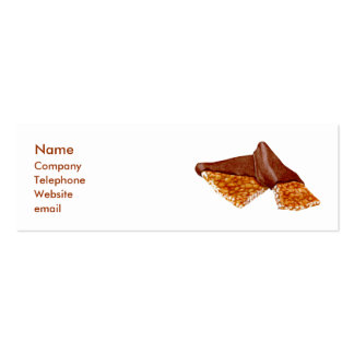 Peanut Brittle Business Card