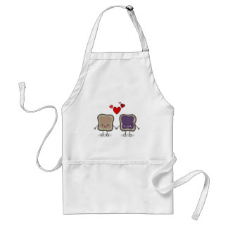 Peanut Butter and Jelly Standard Apron