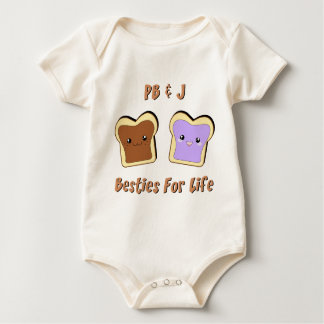 Peanut Butter and Jelly Baby Bodysuit