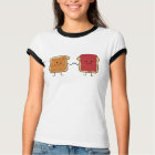Peanut Butter and Jelly Fist Bump friends toast T-Shirt