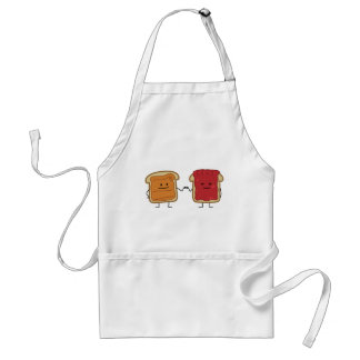 Peanut Butter and Jelly Fist Bump Standard Apron