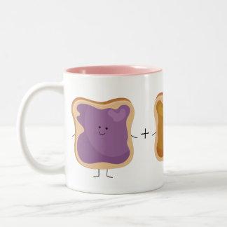 Peanut Butter and Jelly Love Mug