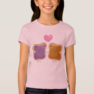 Peanut Butter and Jelly Love T-shirt