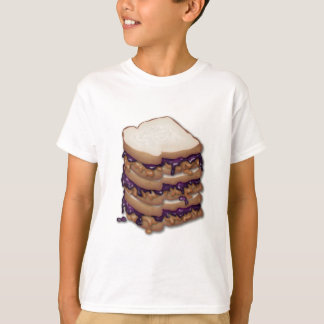 Peanut Butter and Jelly Sandwiches T-Shirt