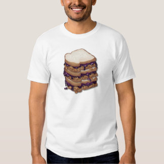 Peanut Butter and Jelly Sandwiches Tshirts