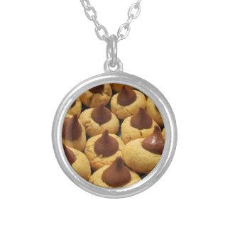 Peanut Butter Chocolate Drop Cookies Necklace