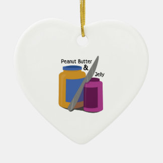 PEANUT BUTTER & JElLLY Christmas Ornament