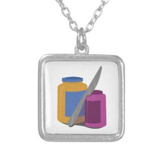 Peanut Butter & Jelly Personalized Necklace