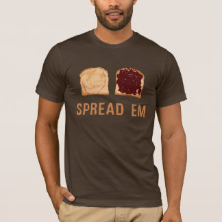 Peanut Butter & Jelly: Spread 'Em T-Shirt