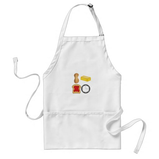 Peanut Butter Jelly Time! Apron