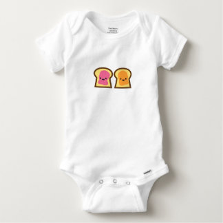 Peanut Butter Jelly Time Baby Onesie