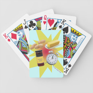 Peanut Butter Jelly Time Bicycle Poker Cards