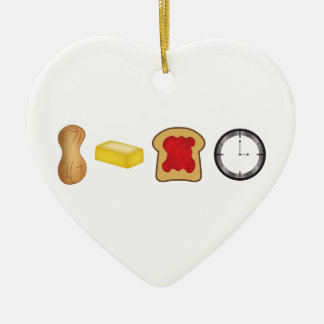 Peanut Butter Jelly Time Horizontal Christmas Ornament