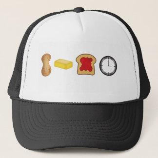 Peanut Butter Jelly Time Horizontal Trucker Hat