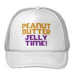 Peanut Butter Jelly Time Trucker Hat