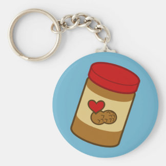 Peanut Butter Key Ring