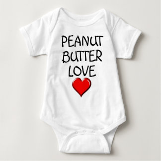Peanut Butter Love Baby Bodysuit