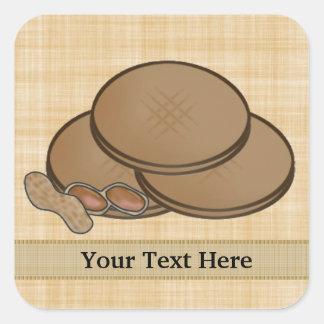 Peanut Butter sticker add text