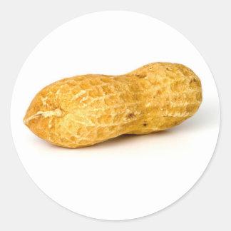 Peanut Classic Round Sticker