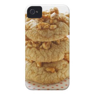 Peanut cookies in a pile iPhone 4 Case-Mate cases