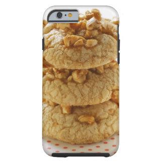 Peanut cookies in a pile tough iPhone 6 case