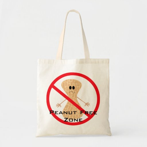 Peanut Free Allergy Bag