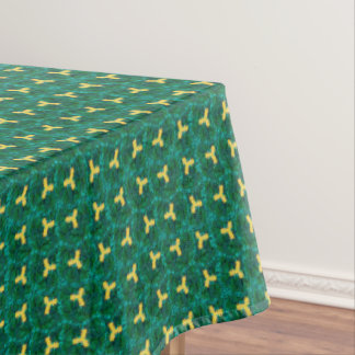 Peanut Green Marble Tablecloth Texture#21-b Sale
