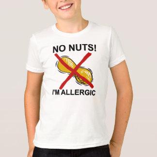 Peanut NO Nuts I'm Allergic T-Shirt