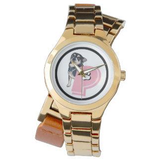 Peanut Pink Logo Fancy Watch