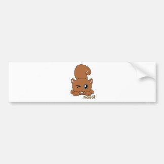 Peanut Pudgie Pet Bumper Sticker
