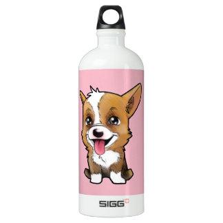 Peanut the corgi to water bottle Pink 1L SIGG Traveller 1.0L Water Bottle