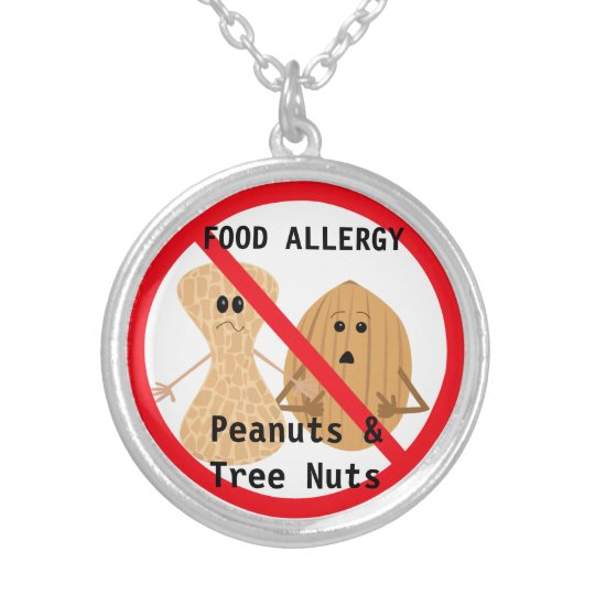 Peanut & Tree Nut Allergy Necklace