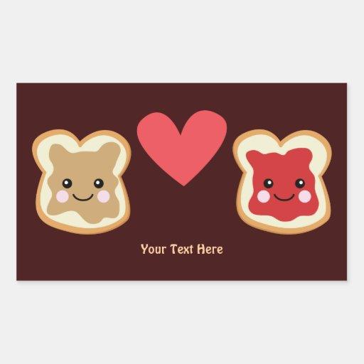 PeanutButter & Jelly (customizable0 Stickers