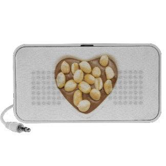 Peanuts on chocolate iPhone speakers