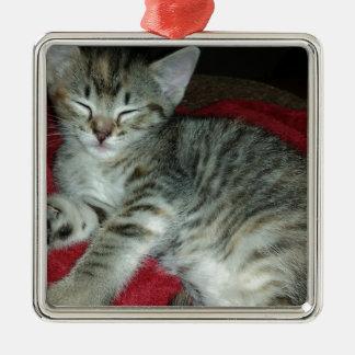 Peapicker kitty christmas ornament