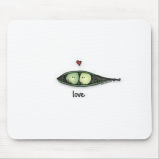 Peapod Love Mouse Mat