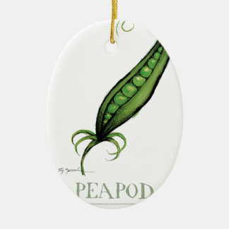 peapod, tony fernandes christmas ornament